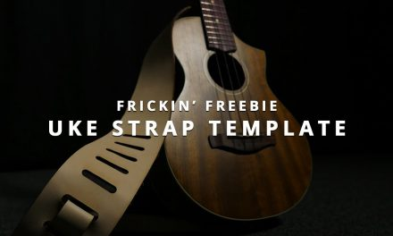 Frickin' Freebie: Ukulele Strap Design (For Glowforge and General Laser Cutters)